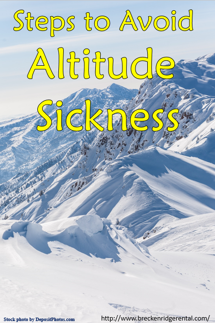 Steps to Avoid Altitude Sickness